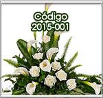 Flores para condolencias en Guatemala