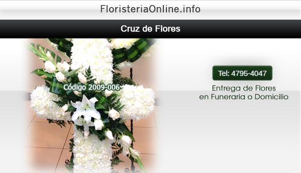 Floristeria Online en Guatemala  - Diseño Floral para enviar mensaje de condolencias a Funerales