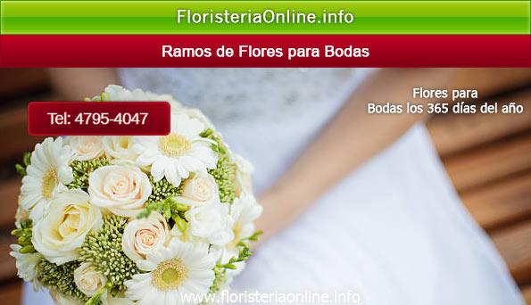 Ramos de flores para novia en la fecha de su boda en Guatemala