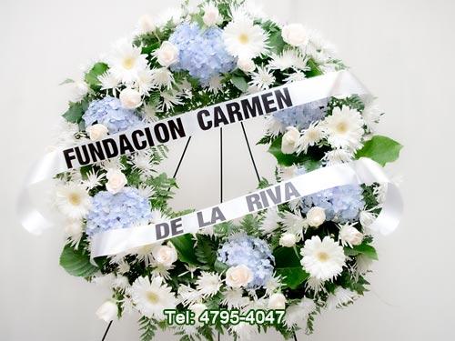 coronas florales para funerales