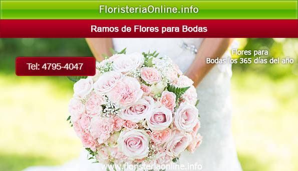 Ramos para novia en la fecha de su boda en Guatemala