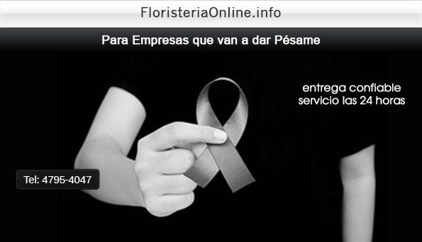 FLORES para dar PÉSAME para Empresas en GUATEMALA