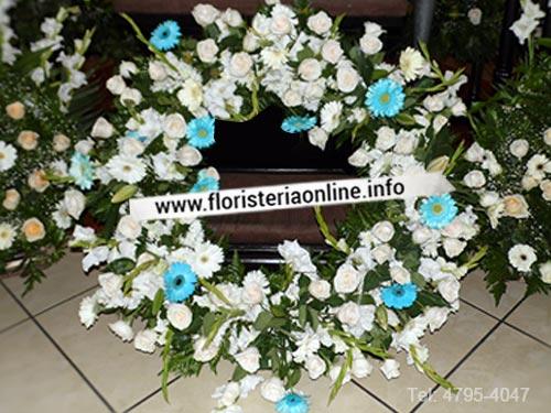 Flores para dar último adiós y despedir con cariño en Funeral