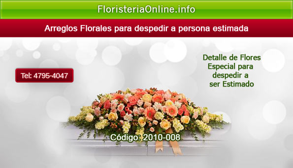 Flores bellas para funerales en Guatemala
