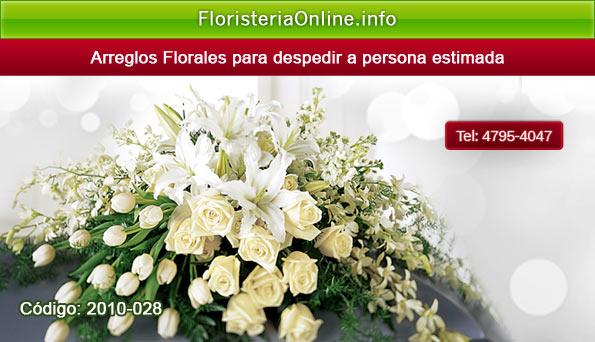 Flores para ataúd