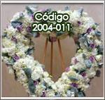 corazones de flores a domicilio