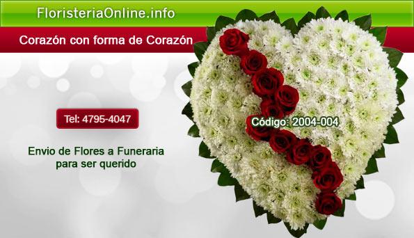Arreglo Floral De Corazón Roto