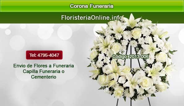 Coronas para Funerales en Guatemala para enviar pésame
