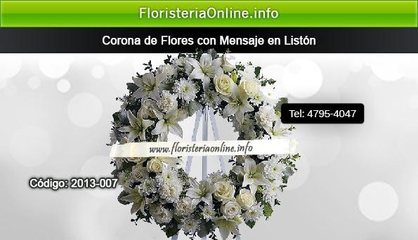 Coronas de Flores bellas de Guatemala con liston