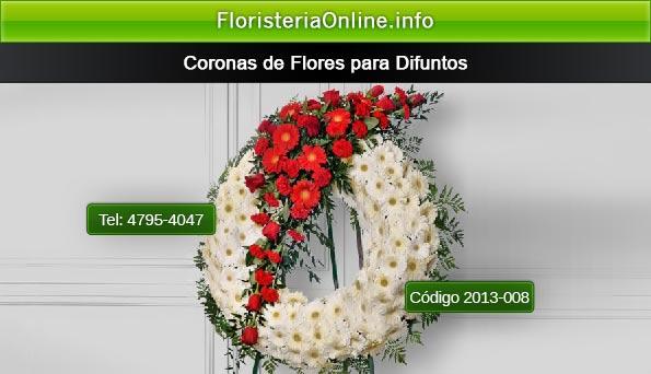 Coronas Fúnebres en Guatemala con moña