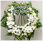 Coronas florales funebres para condolencias en guatemala