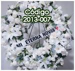 corona de flores bella para envio a funerales en guatemala