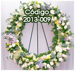 Coronas Fúnebres en Guatemala llena de rosas