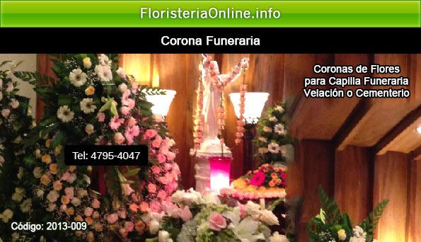 coronas funebres en guatemala para cuando fallece mujer