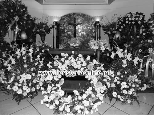 Coronas para funerales en Guatemala