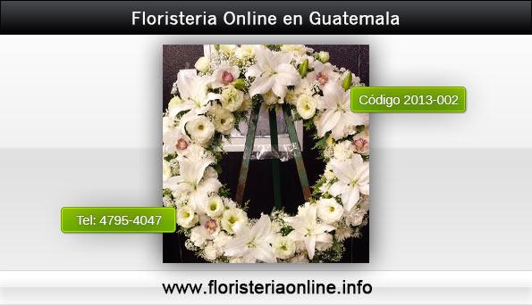 Envió de coronas florales las 24 horas en Guatemala