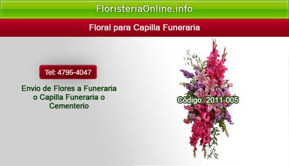 Arreglos florales para difuntos en la capital de Guatemala