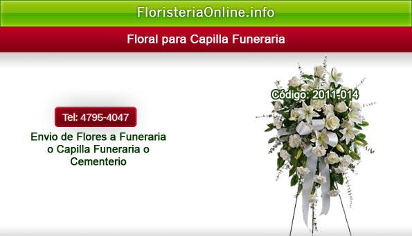 Arreglos florales en Guatemala: flores bellas para capilla funeraria