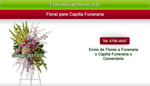 Envió de flores para funeral