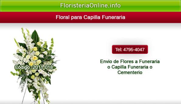 Arreglo Floral de Luto para funeral en Guatemala