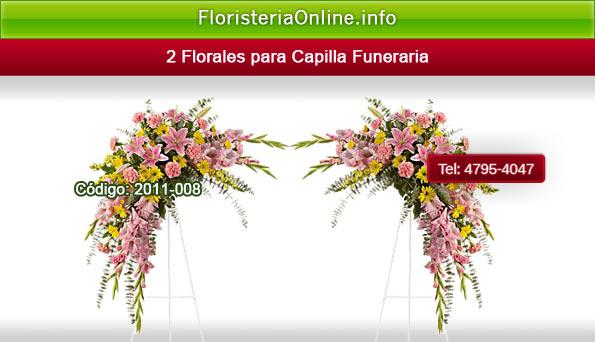Arreglos florales para acampañar a féretro en Funerales