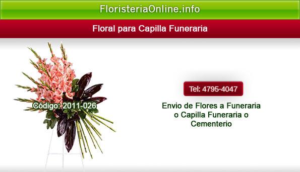 Flores a Funeraria