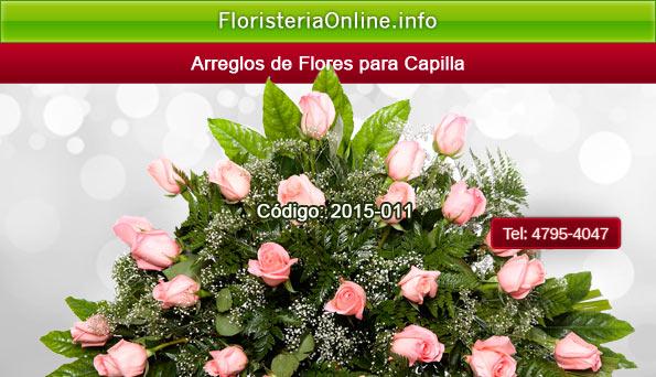 Arreglos florales fúnebres en Guatemala