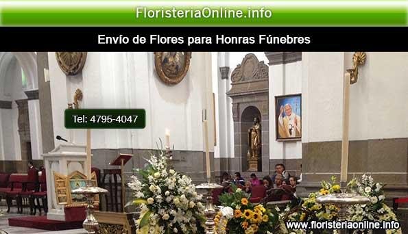 flores para honras funebres