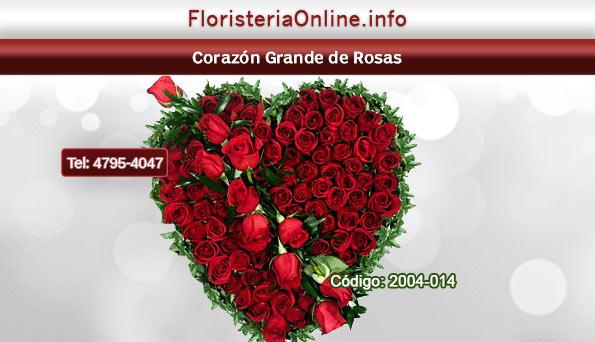floristeria online en guate corazones de rosas
