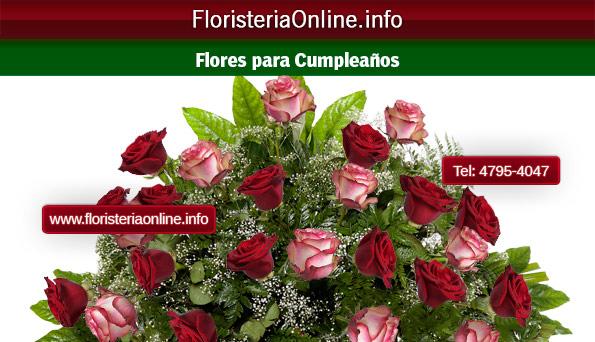 Regalar rosas para cumpleaños