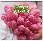 ramos para novias con tulipanes rosados en guatemala