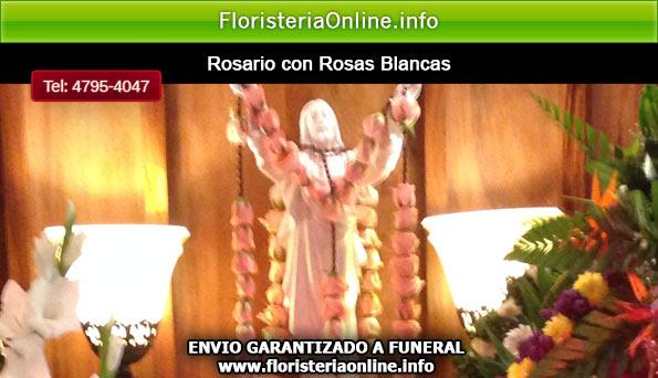 rosarios con rosas blancas en guatemala