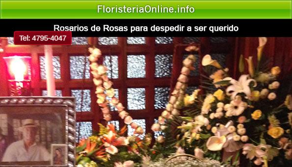 rosario de rosas para despedir a ser querido