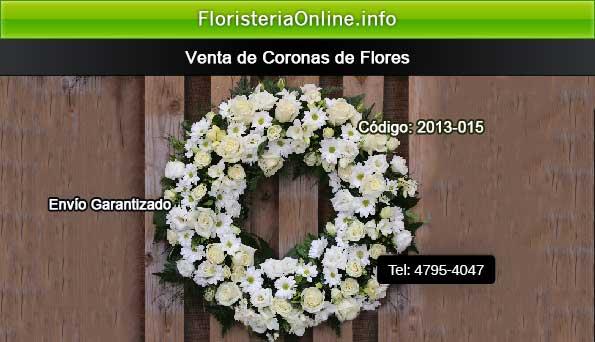 venta de coronas de flores